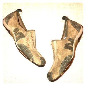 Merrell Stone Barrado Suede Zip Euro Comfort Shoes
